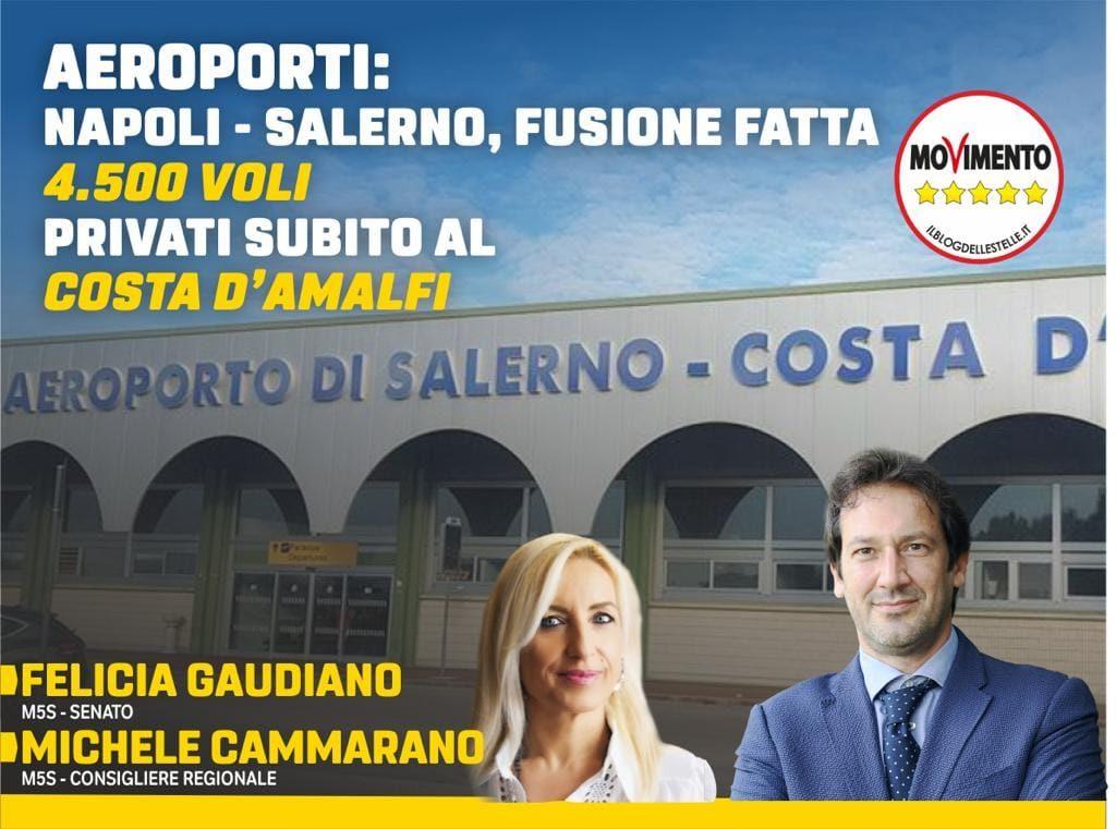 Aeroporto di Salerno, verso la fusione