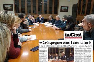 Stop nuovi impianti crematori. La Regione Campania rediga il piano.