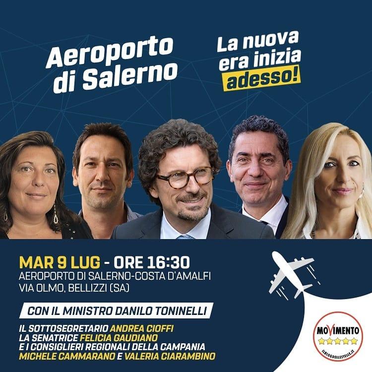Conferenza stampa Ministro Toninelli