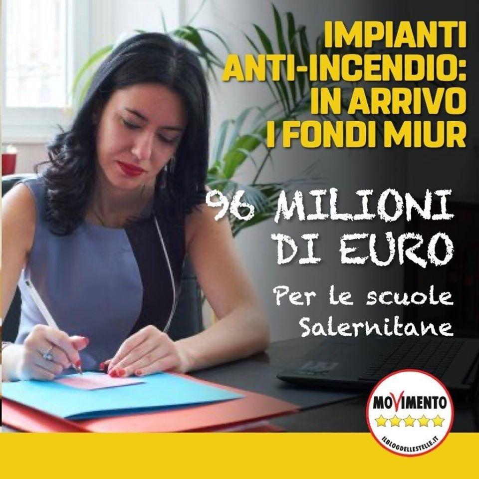 Finanziamenti per le scuole di Salerno e provincia.